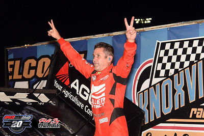Knoxville 360 Nationals - Knoxville Raceway - 8/8/20 - Paul Arch