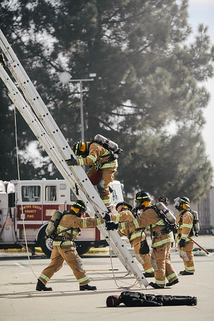 CCCFPD-Livermore-Pleasanton Tower Burn