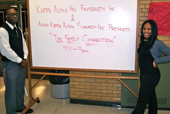 FAMILY CONNECTION | KAPPA ALPHA PSI (DELTA NU) & ALPHA KAPPA ALPHA (XI)