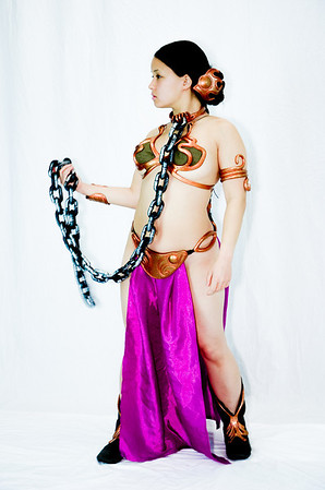 Slave Princess Leia Cosplay