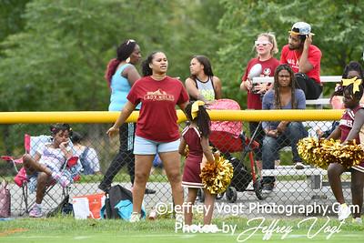 9-14-2019 Rockville Football League Seminoles Cheerleading, at Mattie Stepanek Park, Rockville Maryland, Photos by Jeffrey Vogt Photography