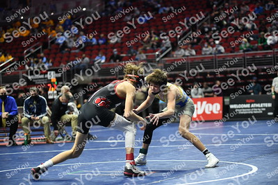 State Wrestling 2A: consolations
