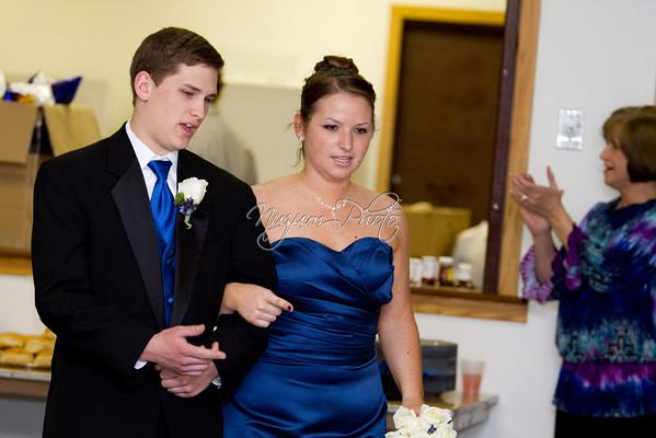 Reception - Kate and Matt