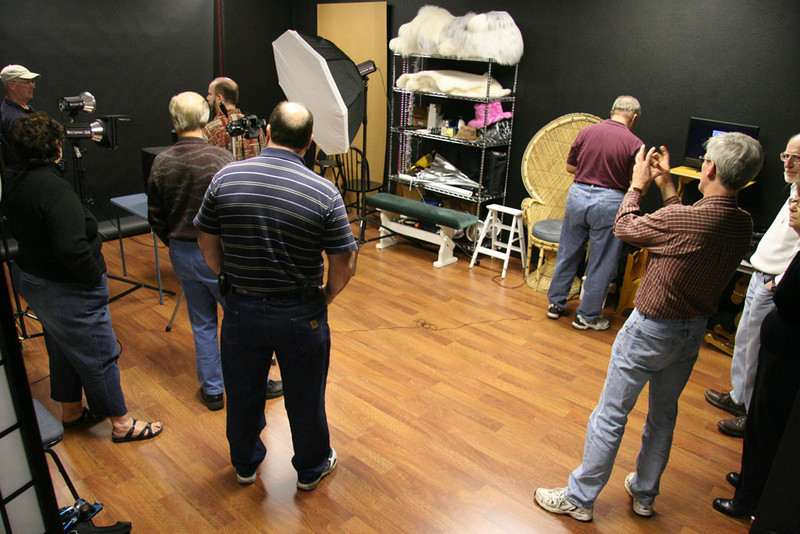 The Studio Group in John Green's Studio.
