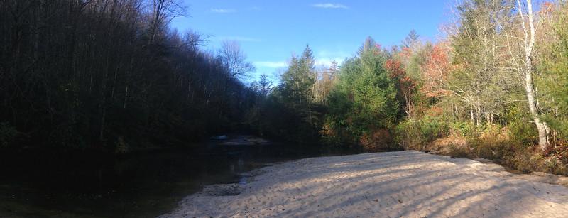 Panthertown Valley Trail - 3,670'