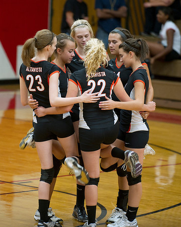 Volleyball- Rustburg/Brookville