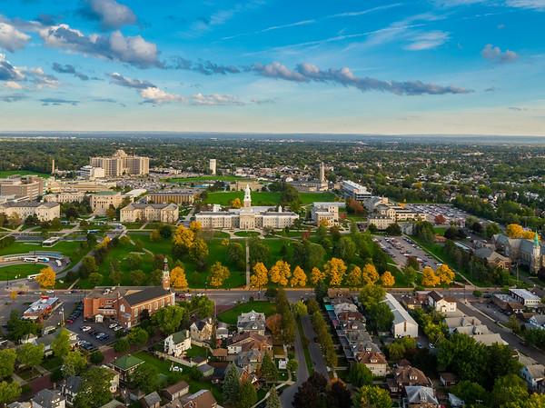 180302 Community Relations, Aerial University Heights Neighborhood, Buffalo, NY