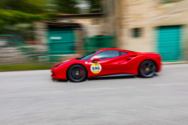 Arezzo Ferrari 75th Cars