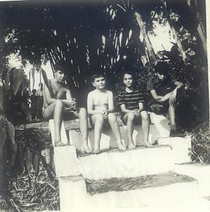 Nos cavalos Ze' Novo, Jorge Duarte, Lili Moreira Rato  e Luis Valente