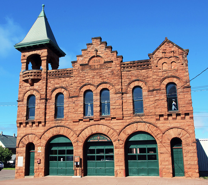 Calumet fire station, now a museum.