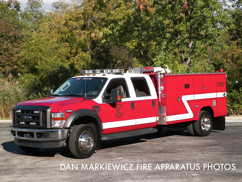 KEYSTONE VALLEY FIRE CO. CHESTER COUNTY TAC 8 2009 FORD/READING TAC UNIT