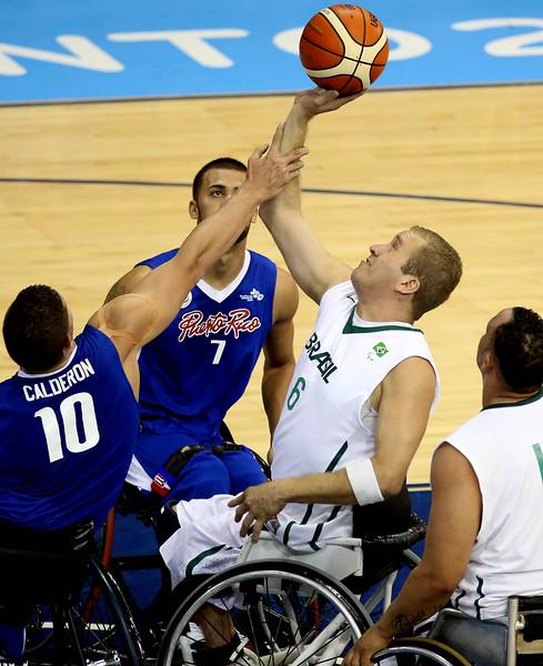 08/08/2015 - Canadá, Toronto.  Jogos Parapan-Americanos de Toronto 2015.Basquete Masculino - Brasil x Porto Rico. ©Fernando Maia/MPIX/CPB
