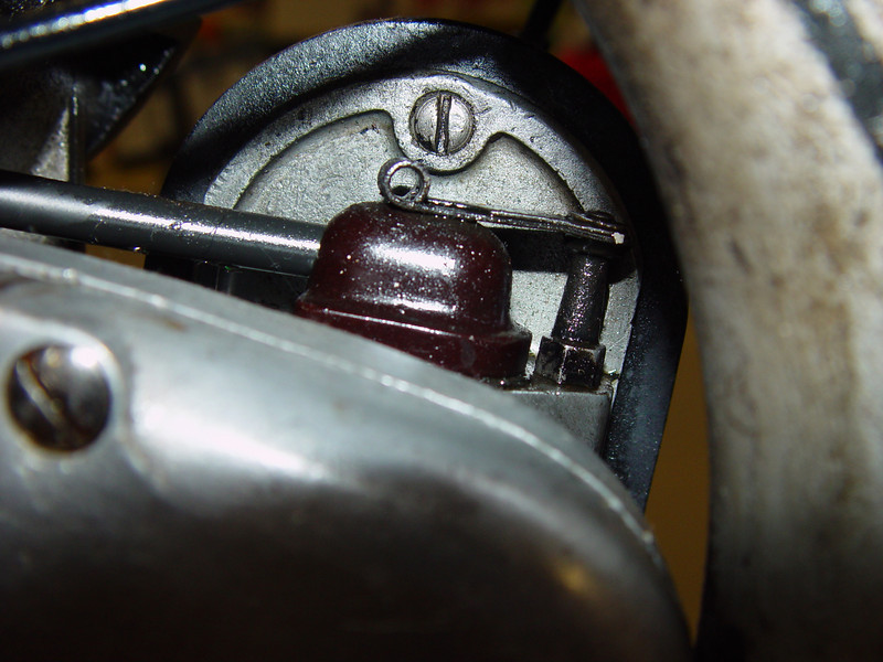 Ignition wire from magneto