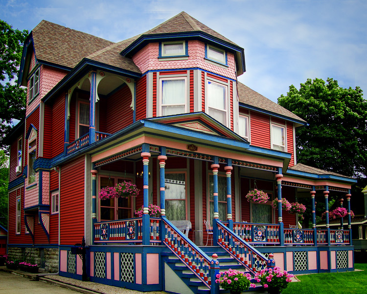 The Big Pink House