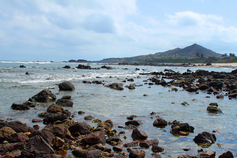 We had a great view from the Punta Mita peninsula.