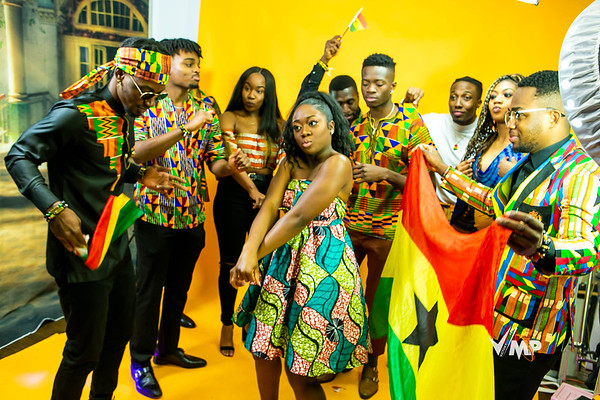 GHANA INDEPENDENCE SHOOT