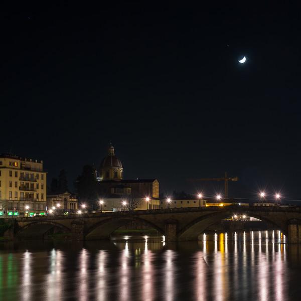 Ponte Alla Carraia on the Arno River