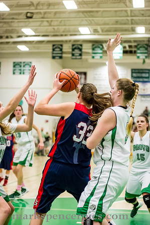 Basketball GSHS vs Provo 1-14-14