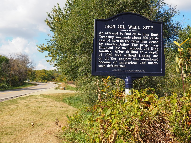 1905 Oil Well Site