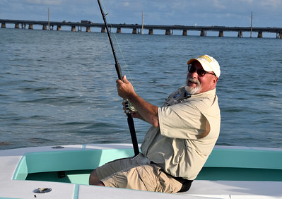 2019 Marathon fishing trip with Len, Ira and Donnie