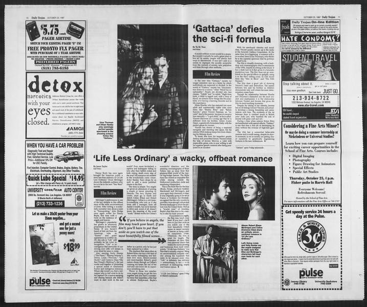 Daily Trojan, Vol. 132, No. 39, October 23, 1997