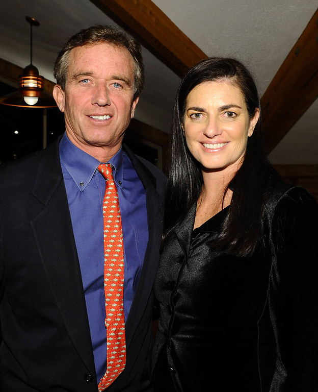 . Mary Kennedy (seen with Robert F. Kennedy Jr.).   (Photo by Michael Buckner/Getty Images)