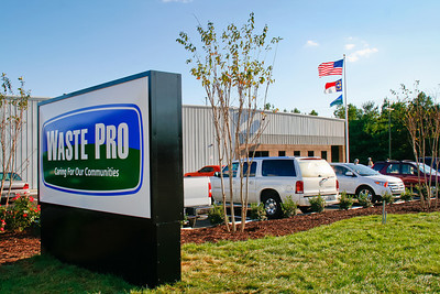 2011 Waste Pro Concord Grand Opening Event