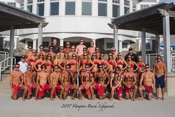 2017-8-11 Hampton Beach Lifeguards 2017