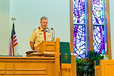 Jay's Eagle Scout Ceremony