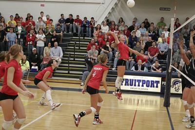 Girls Varsity Volleyball  - 2005-2006 - 3/11/2006 Regionals vs. Fruitport
