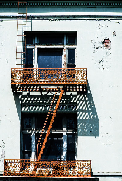 Fire Escape, San Jose, California, 1993