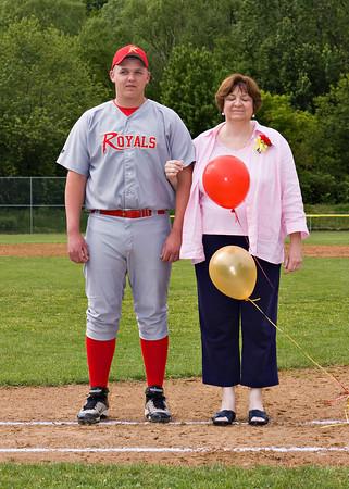 Pittston at Redeemer Baseball and Senior Night