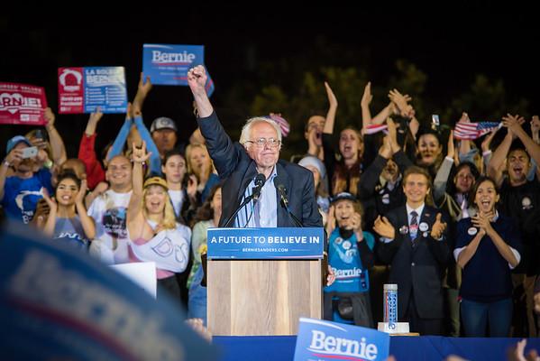 Bernie Sanders Rallies, 2016 & 2019