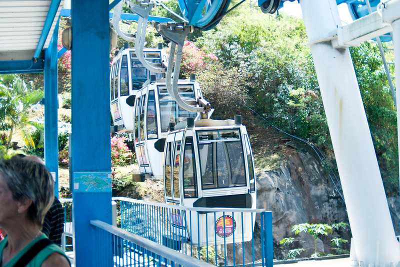 Paradise Point Sky Ride cable cars