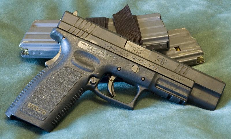 Springfield Armory XD 45ACP Tactical