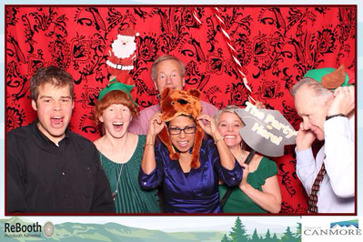 2013 ToC Christmas Party photobooth tomfoolery