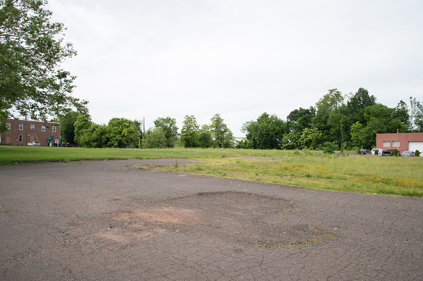 06/24/19 Wesley Bunnell | Staff The vacant lot at 889 Farmington Ave which is proposed to be used as transit oriented development around the Berlin Train Station.