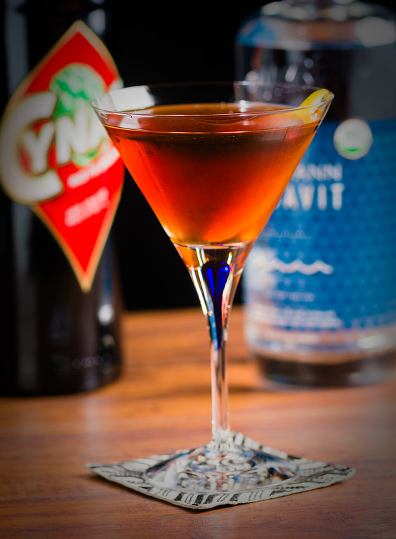 The Trident Cocktail, photo © 2019 Douglas M. Ford. All rights reserved.