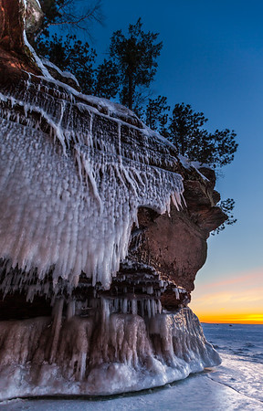 Superior Ice Caves