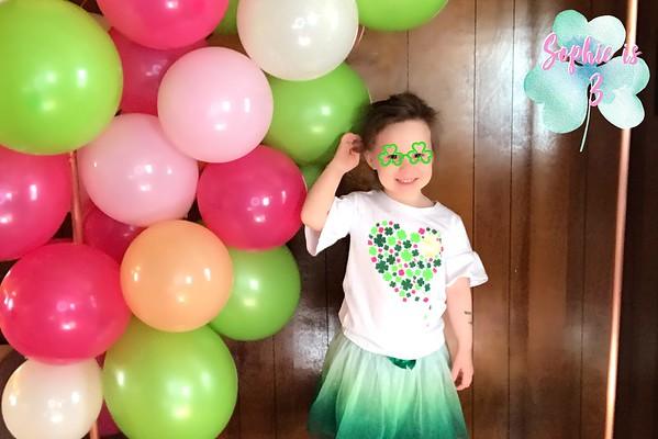 Sophie's 3rd Birthday - March 17, 2019