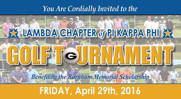 2016 Pi Kappa Phi Alumni Golf Tournament