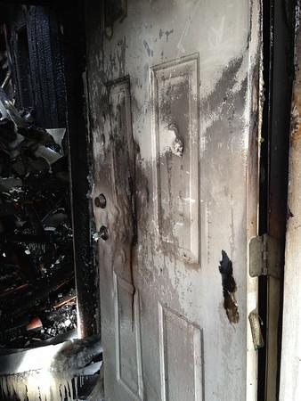 OAK PARK,  IL POST FIRE 833 N. LOMBARD (01-24-2013)