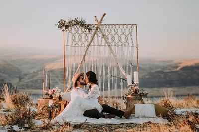 Cave B Wedding | Maddie and Heysus | Seattle Wedding Photographer