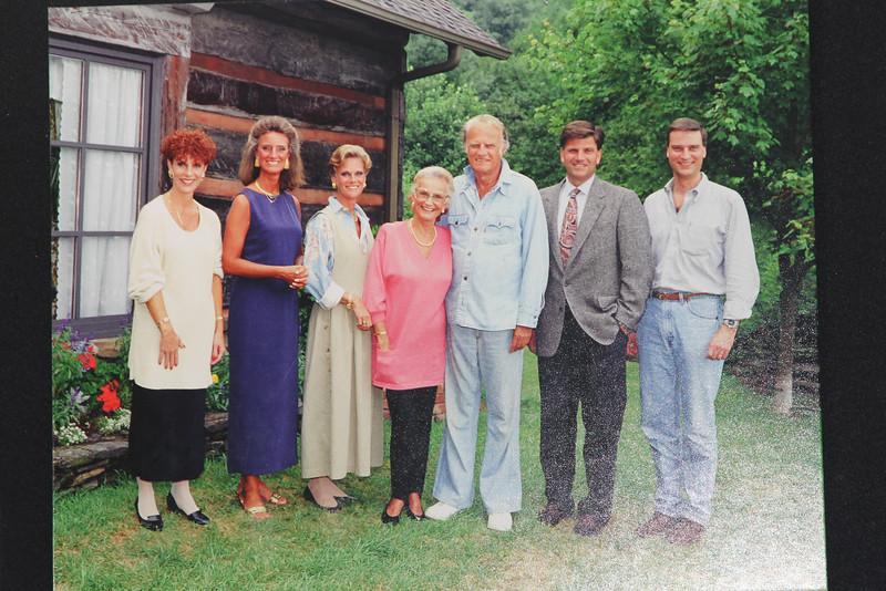 Billy & Ruth Graham's family - 6 children