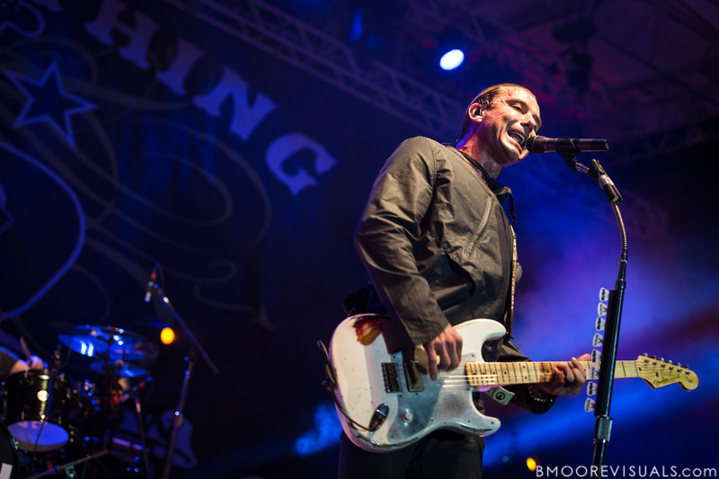 Gavin Rossdale of Bush performs on December 1, 2012 during 97X Next Big Thing at Vinoy Park in St. Petersburg, Florida