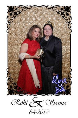 Samia and Rohi's Wedding Mirror Booth