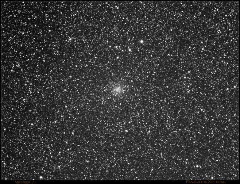 Messier 71 in Sagitta