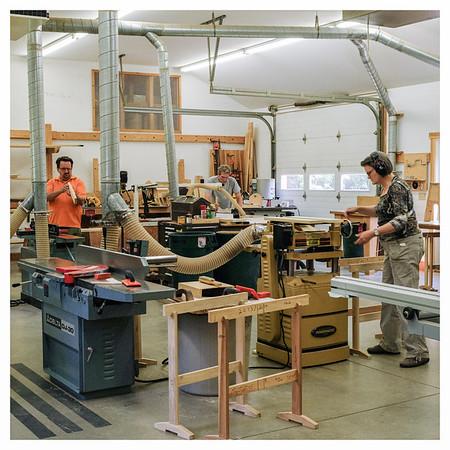 Project: Center for Furniture Craftsmanship, Rockport, Maine