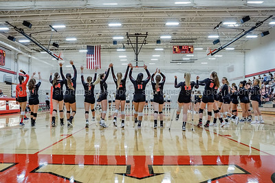 2018 Yorkville Varsity Girls Volleyball