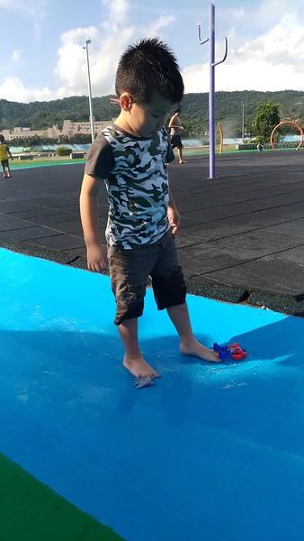 20190914 大佳公園玩水